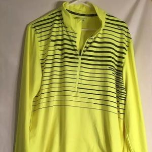 Brooks  XL bright Yellow Running Lightweight Top